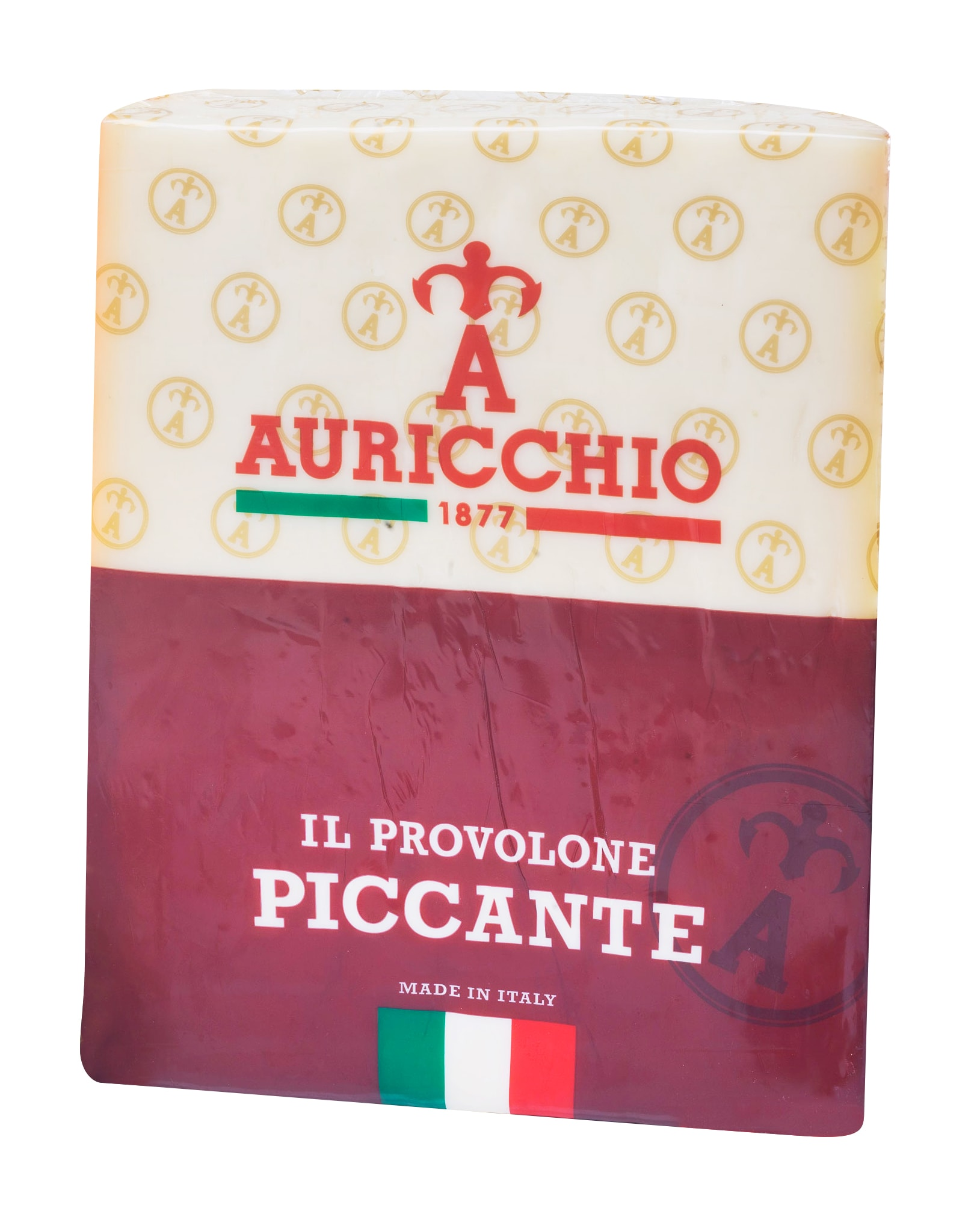 Auricchio Provolone Classico Quarters – Cryovac