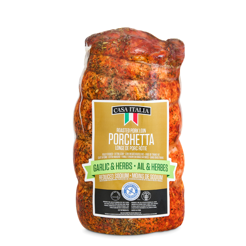 Casa Italia Porchetta Garlic & Herb Skinless