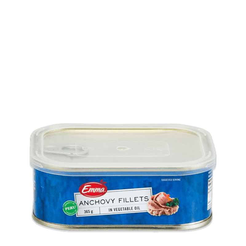 EMMA® Anchovy Fillets In Vegetable  Oil (13 Oz)