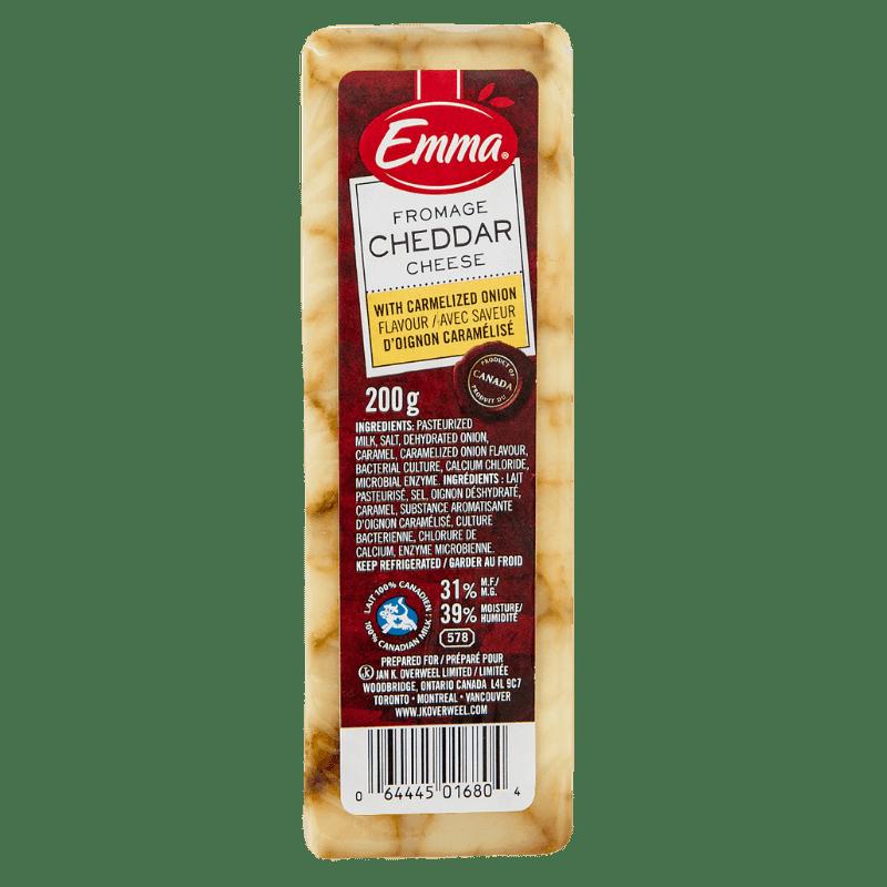 EMMA® Cheddar Cheese – Carmelized Onion