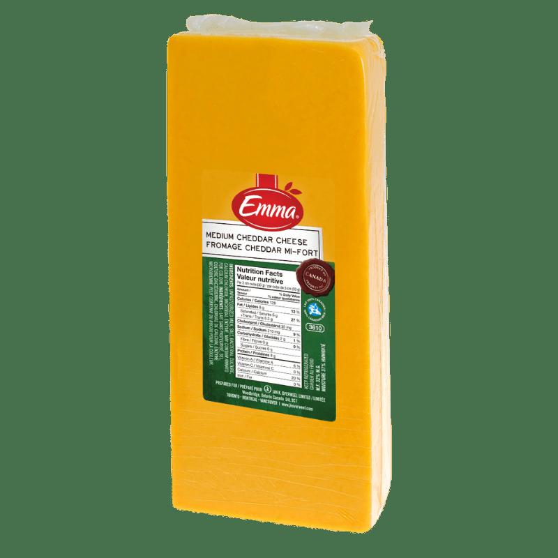 EMMA® Medium Coloured Cheddar
