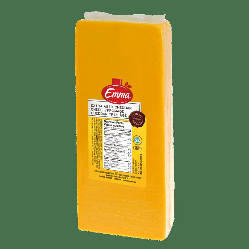 EMMA® Extra Old Coloured Cheddar