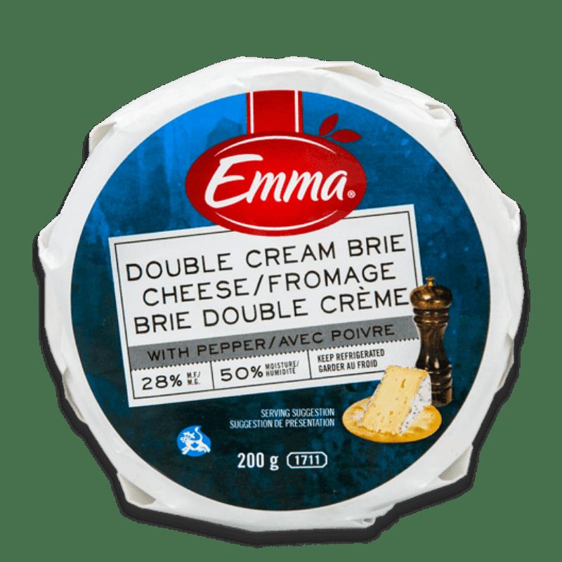 EMMA® Pepper Brie – Double Cream