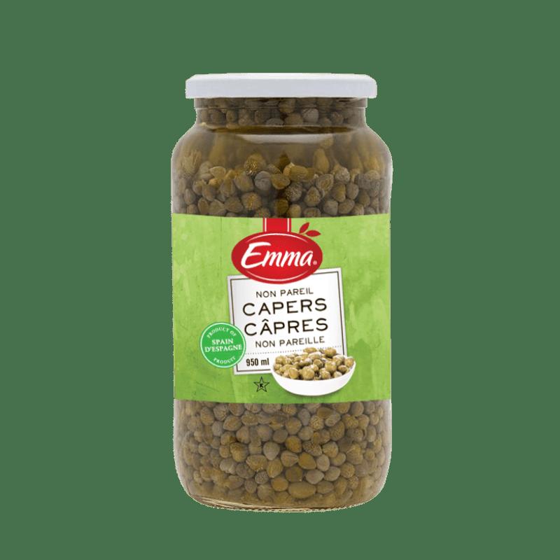 EMMA® Capers – Glass Jar
