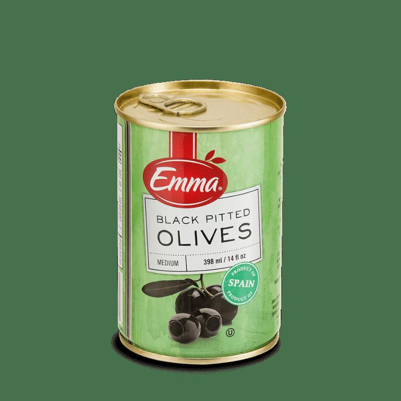 EMMA® Black Pitted Olives