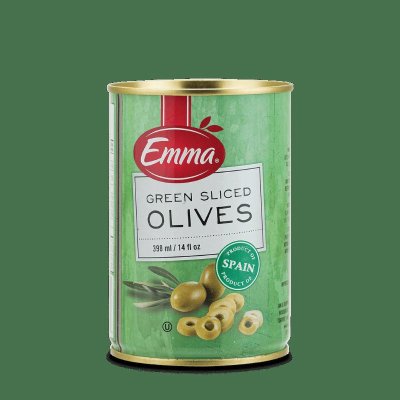 EMMA® Green Sliced Olives