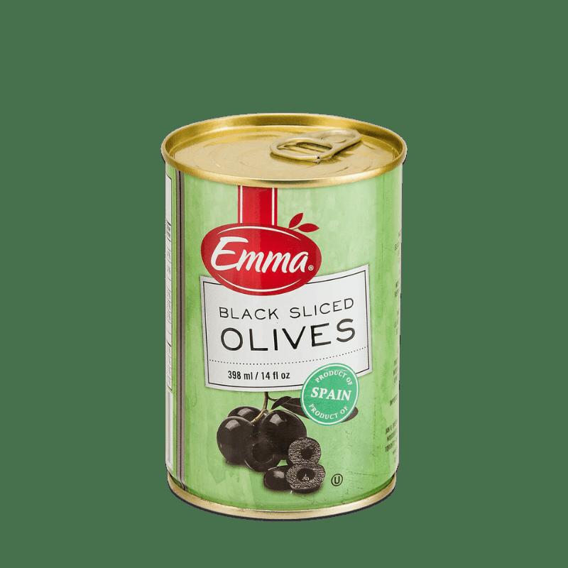 EMMA® Black Sliced Olives