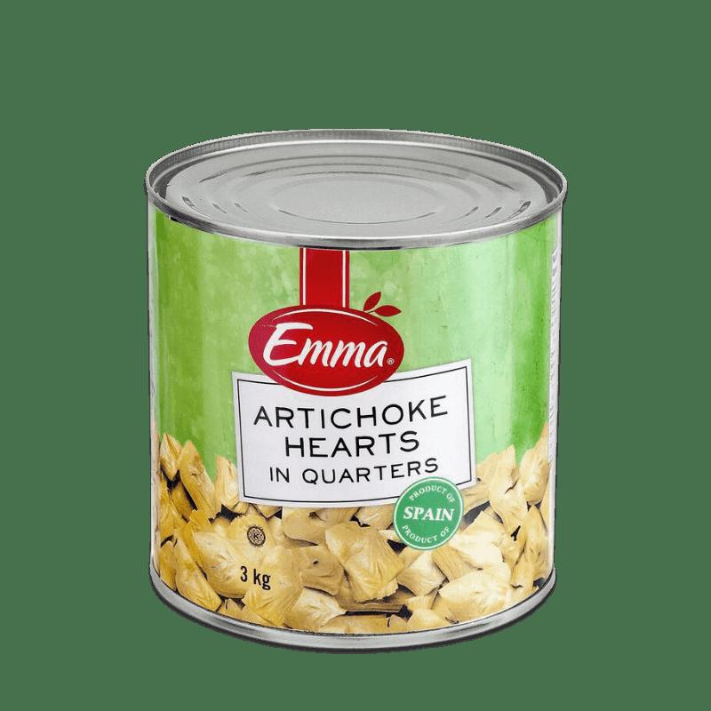 EMMA® Artichoke Hearts – Quarters (Kosher)