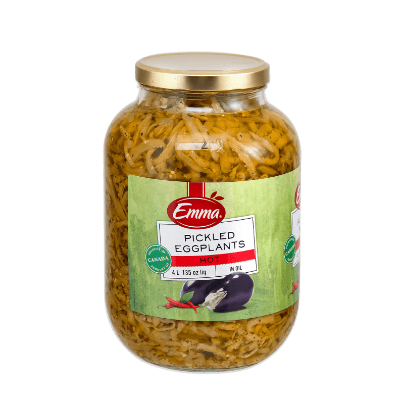 EMMA® Pickled Eggplant In Oil – Hot