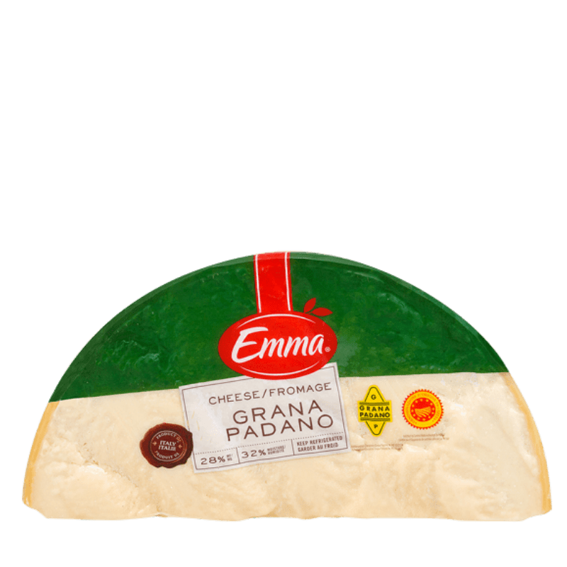 EMMA® Grana Padano Quarter Wheel (half moon)