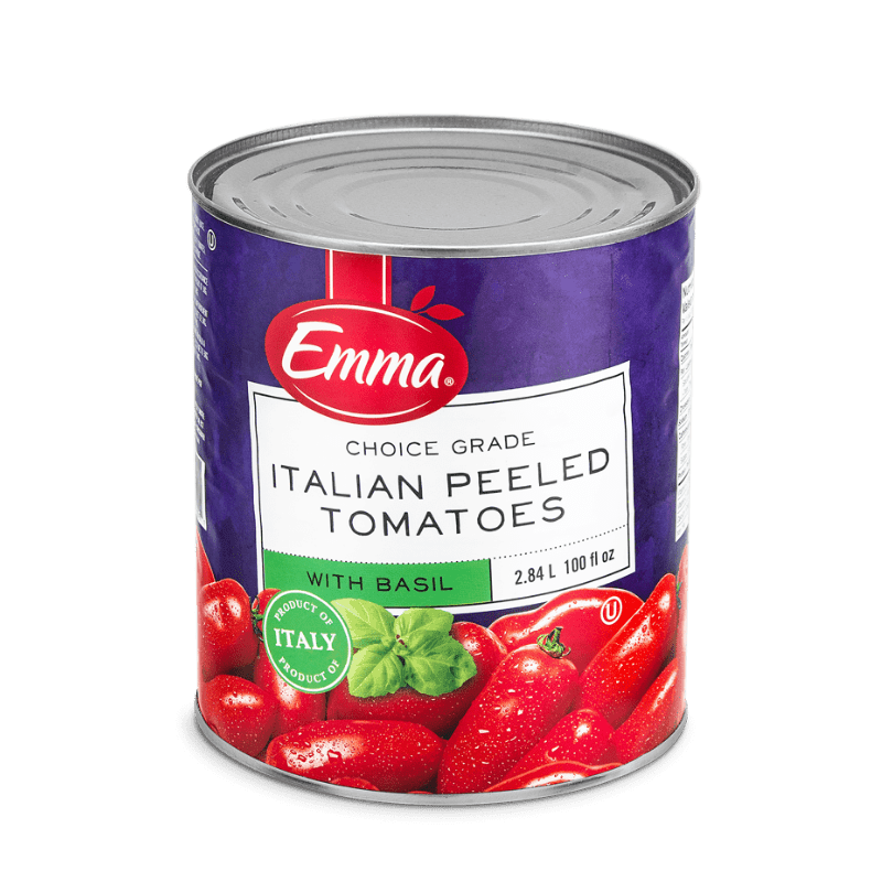 EMMA® Italian Peeled Tomatoes With Basil
