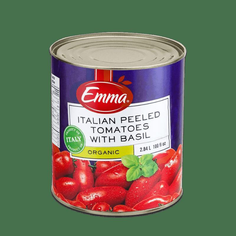 EMMA® Organic Italian Peeled Tomatoes With Basil