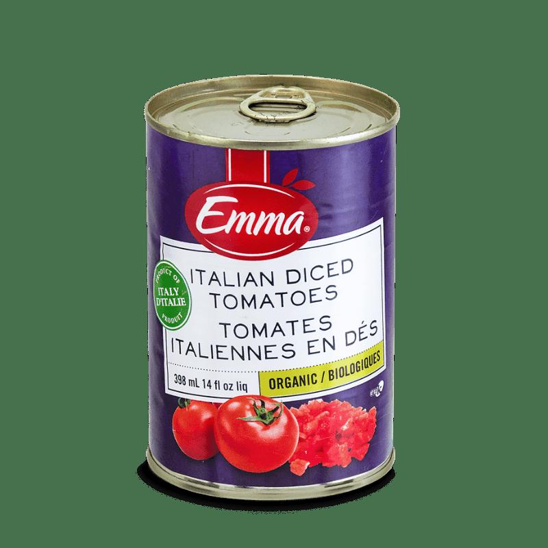 EMMA® Italian Organic Tomatoes – Cubed