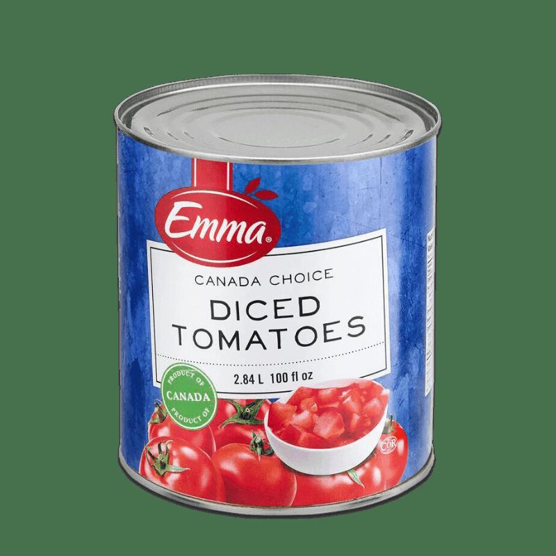 EMMA® Diced Tomatoes – Domestic