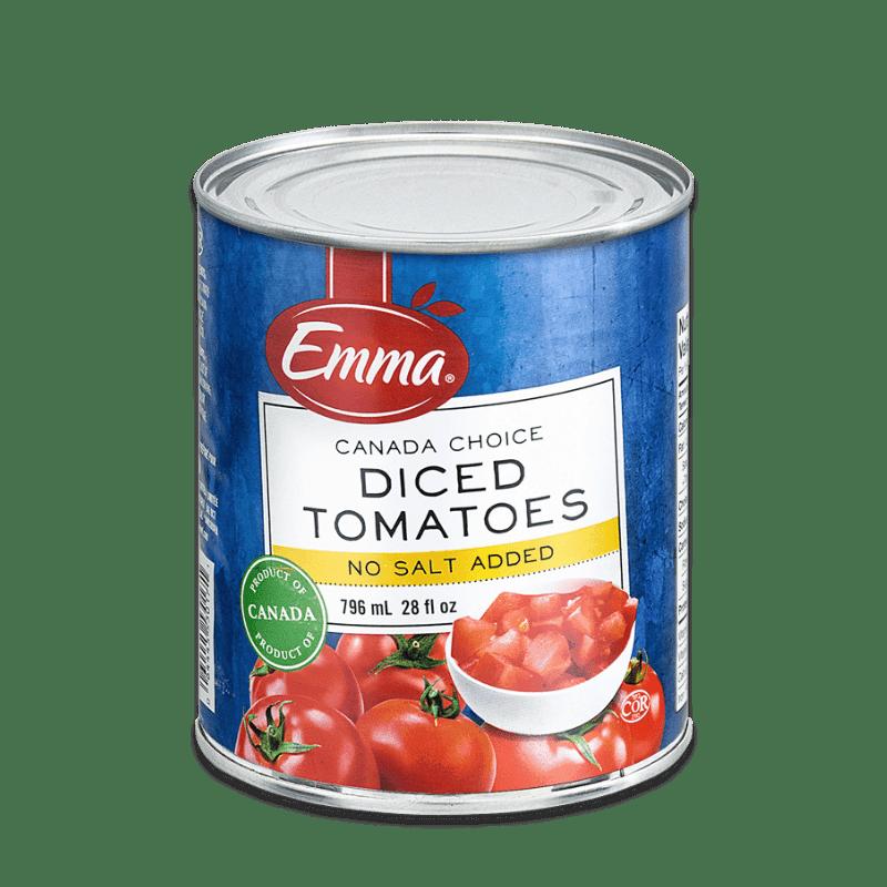EMMA® Diced Tomatoes Low Sodium – Domestic