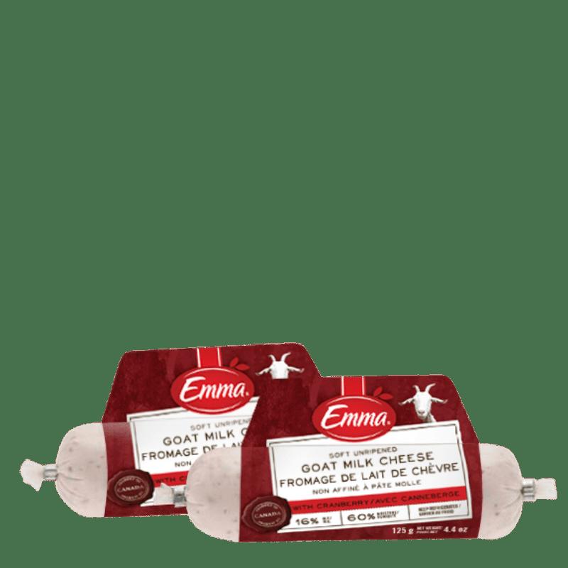 EMMA® Mini Cranberry Goat Milk Cheese Roll