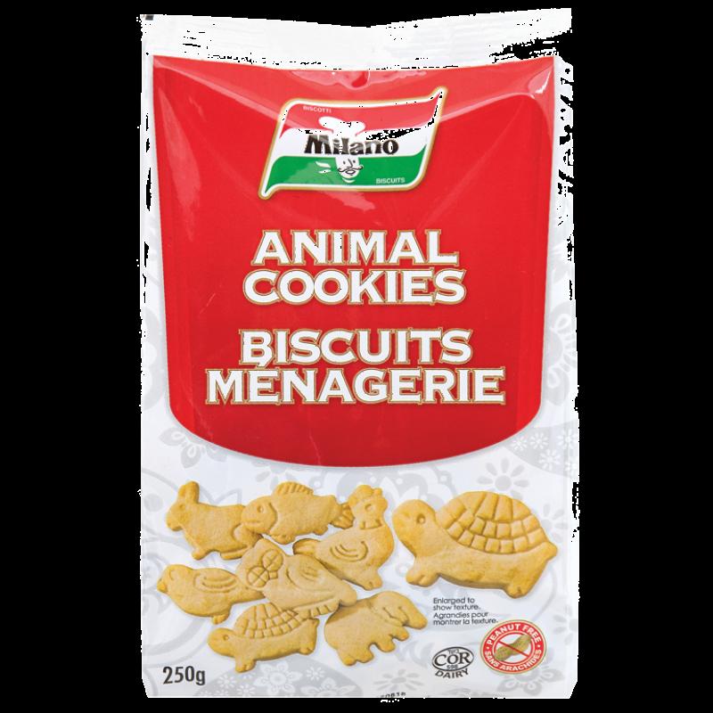 Milano Animal Cookies