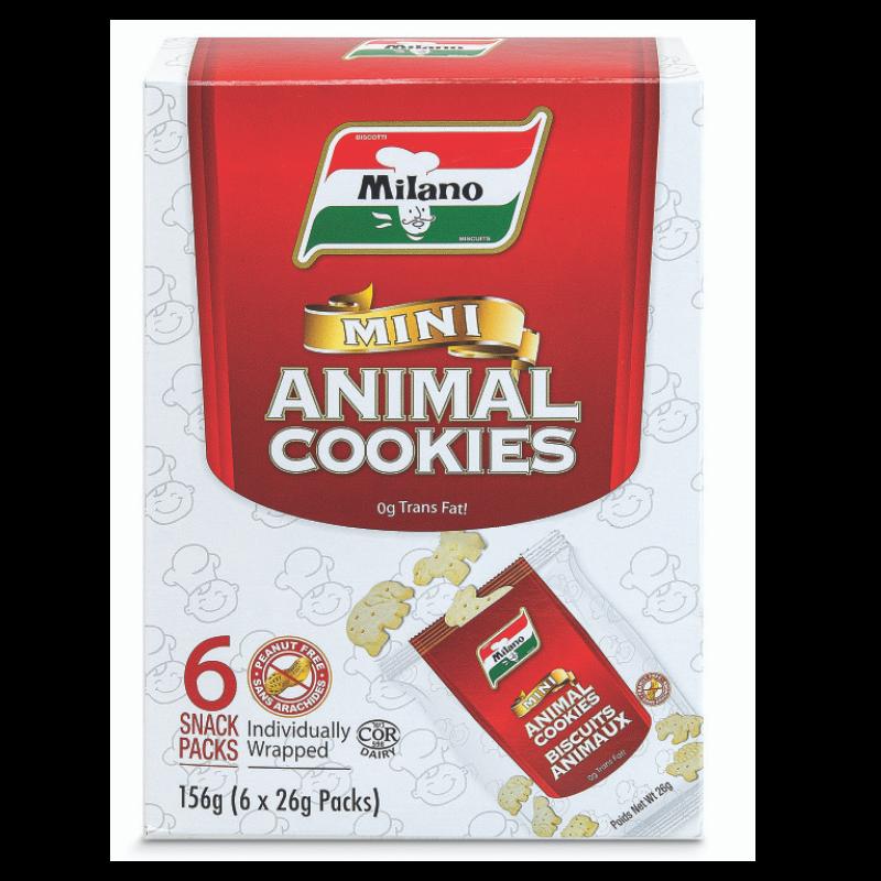 Milano Mini Animal Cookies