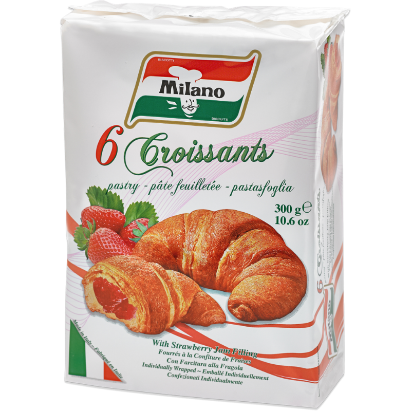 Milano Croissants – Strawberry