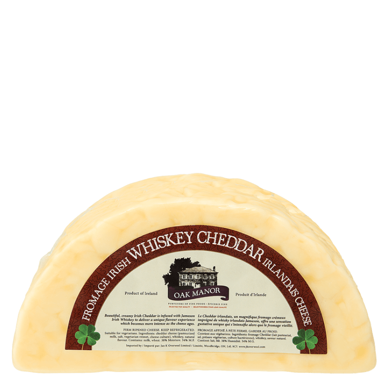 Oak Manor Irish Whisky Cheese