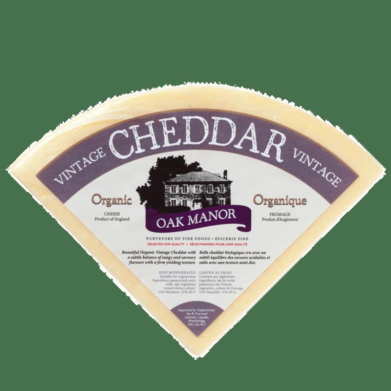 Oak Manor Organic Vintage Cheddar