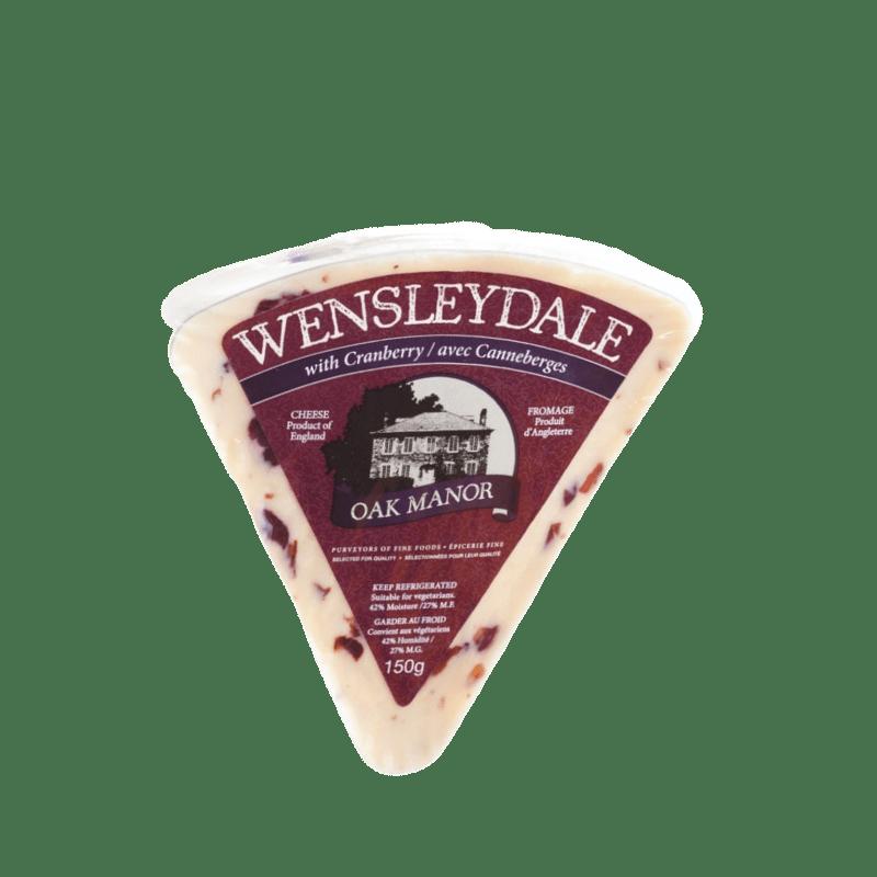 Oak Manor Wensleydale & Cranberry (Triangle)