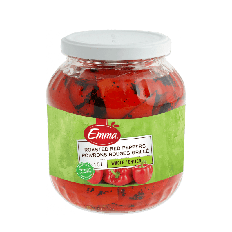 EMMA® Roasted Red Peppers – Whole