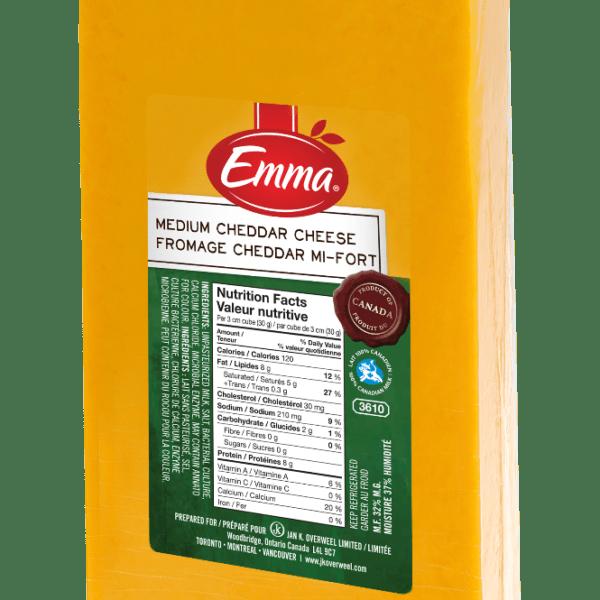 Emma Medium Coloured Cheddar-0