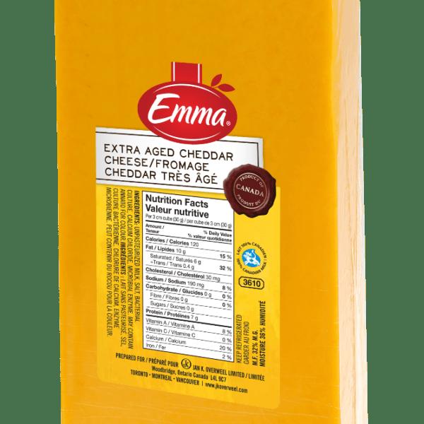 Emma Extra Old Coloured Cheddar-0