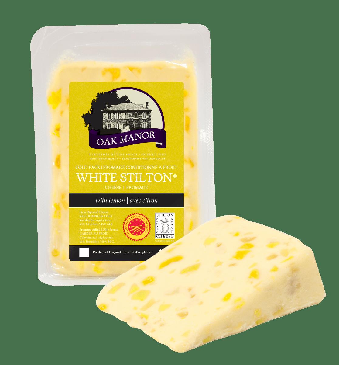 Oak Manor White Stilton & Lemon-0
