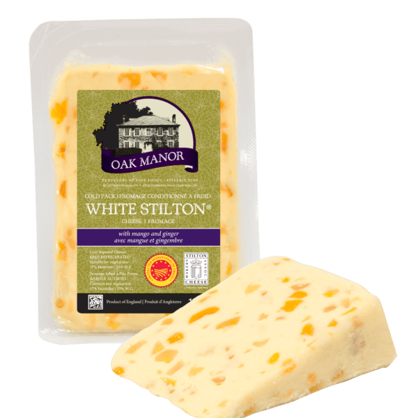 Oak Manor White Stilton with Mango & Ginger-0