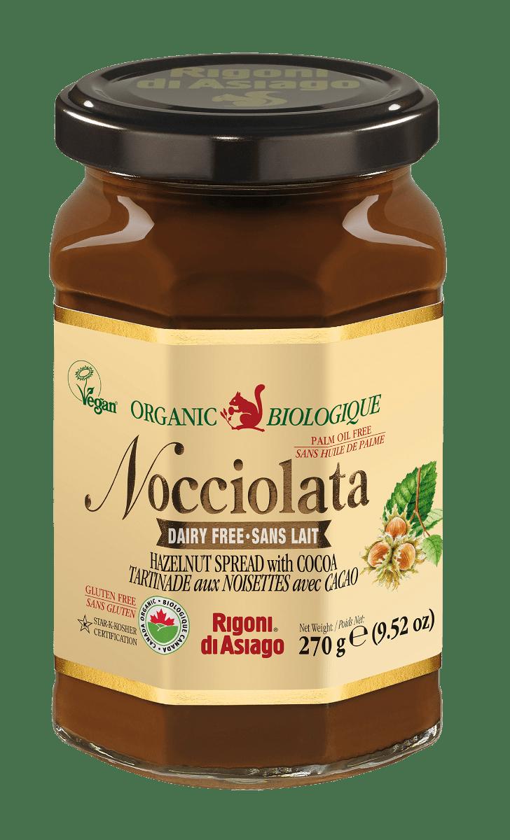 Rigoni Organic Nocciolata Hazelnut Spread - Dairy Free-0