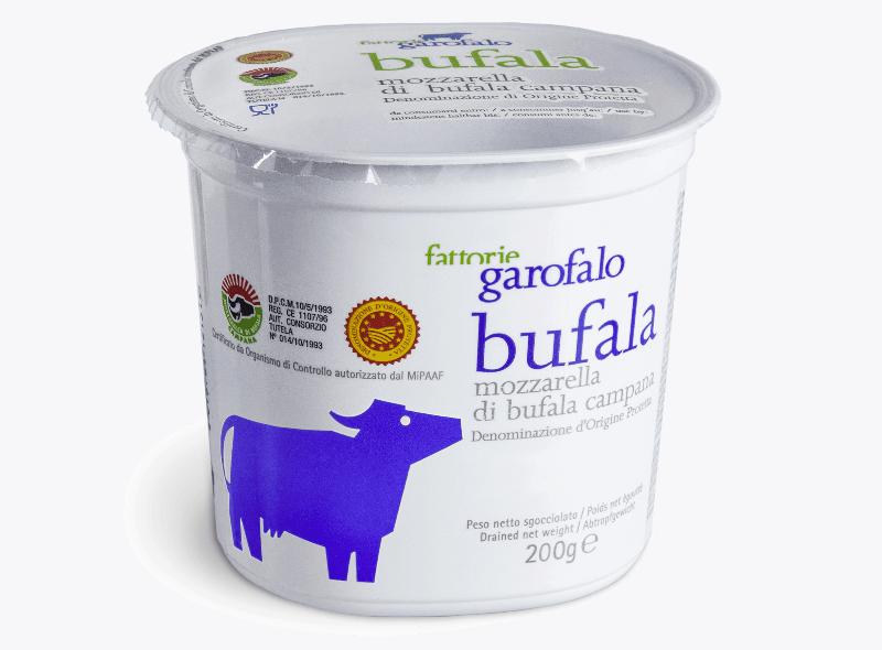 Garofalo  Buffalo Mozzarella PDO 200g Cup