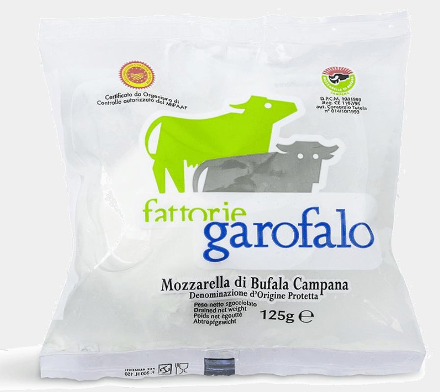 Garofalo Buffalo Mozzarella PDO 125g Bag