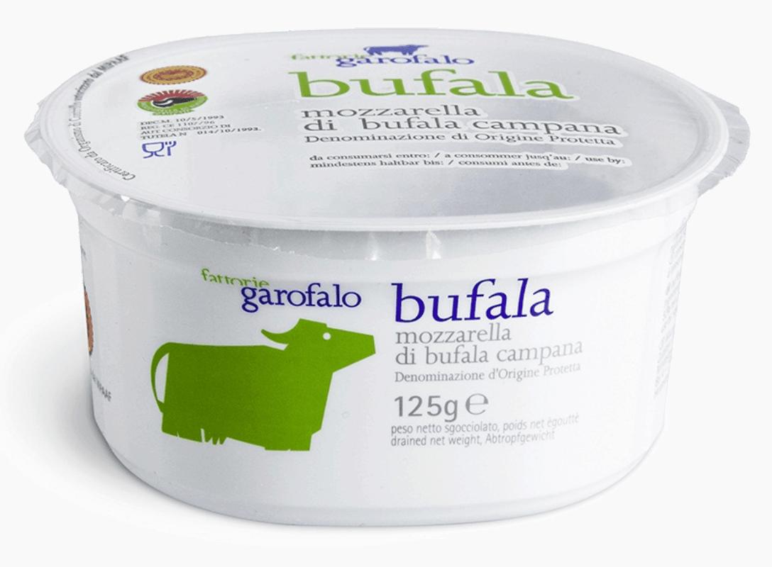 Garofalo Buffalo Mozzarella PDO 125g Cup