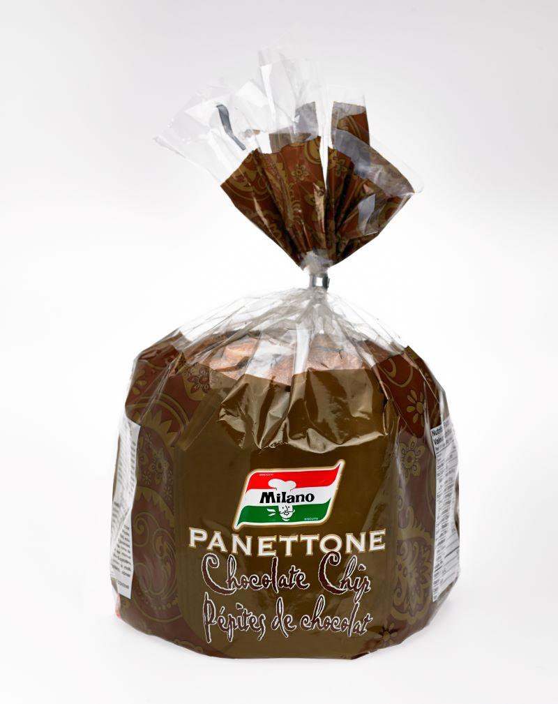 Milano Panettone Chocolate Chip (Cello Bag)