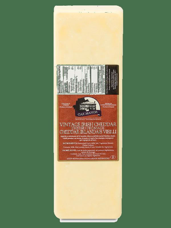 Oak Manor Mature Irish Cheddar