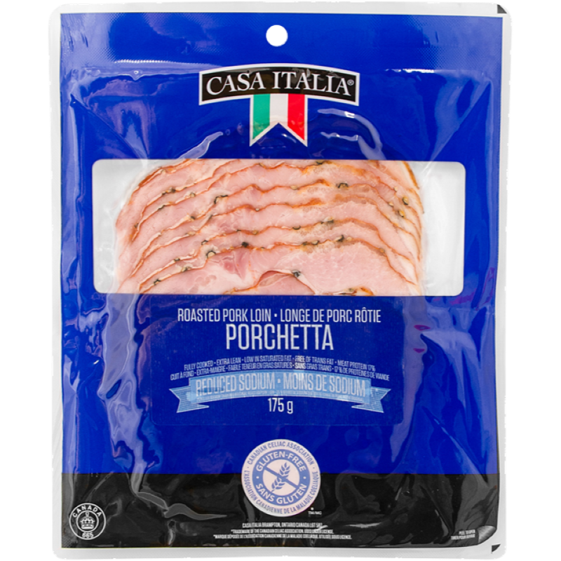 Casa Italia Porchetta Sliced