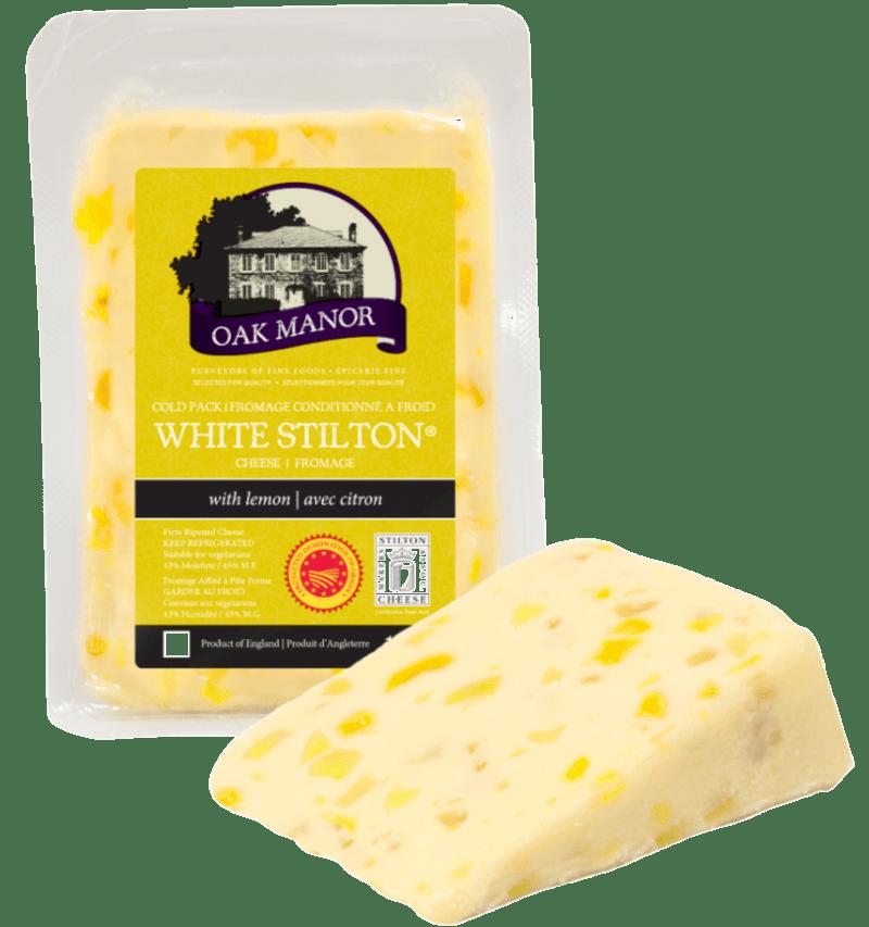 Oak Manor White Stilton & Lemon
