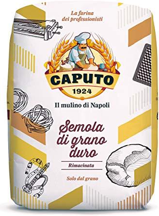 Caputo Semola Di Grano Duro Rimacinata – Twice Milled Durum Wheat Semolina Flour