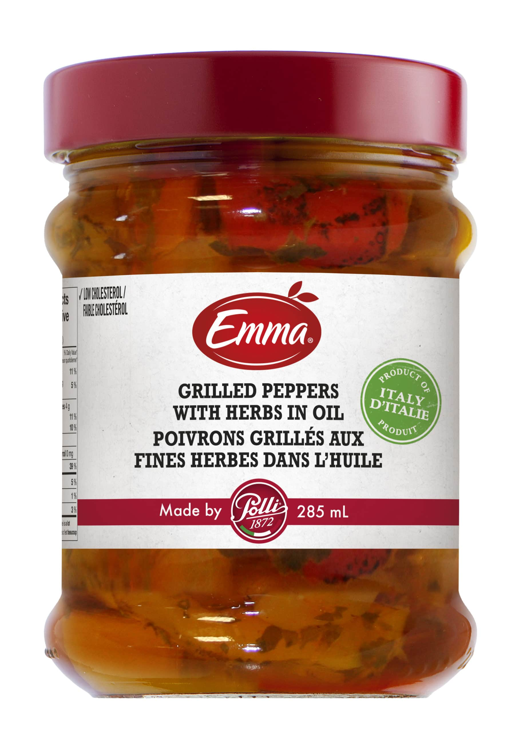 Emma X Polli Marinated Grilled Peppers