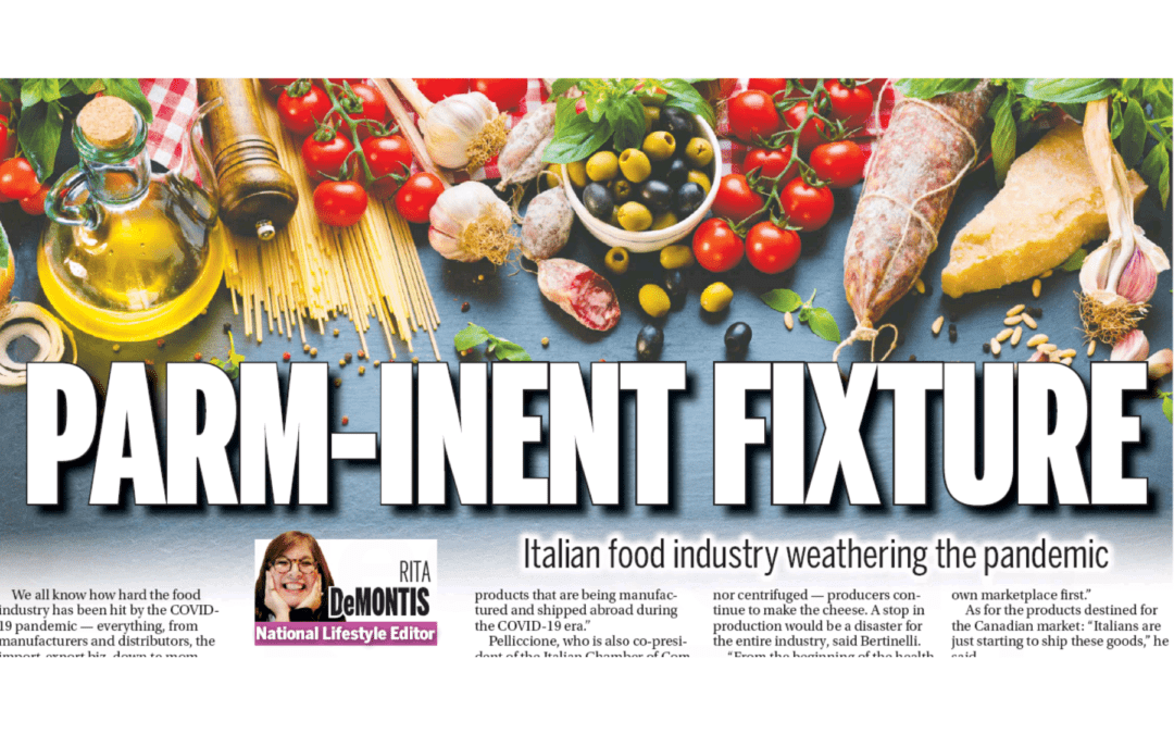 PARM-INENT FIXTURE Italian Food Industry Weathering the Pandemic