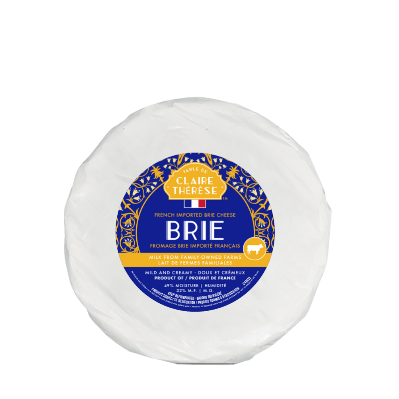 CLAIRE THERESE French Brie 3kg Wheel